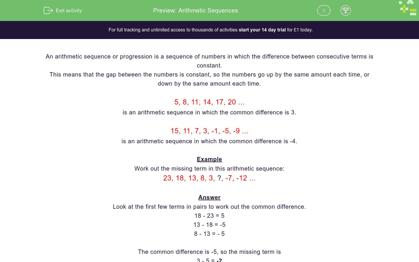 Arithmetic Sequences  solutions  ex les  videos  worksheets further Arithmetic Sequence Worksheet   Oaklandeffect together with Arithmetic Sequences Worksheet – 7th Grade Math Worksheets in addition Math Worksheets Arithmetic Sequences Free Sequence Worksheet Answers in addition Sequences and nth terms worksheet  PDF    Teachit Maths as well Arithmetic Sequence Worksheets together with Sequence Ex le Math Maths Worksheet A Answer Arithmetic Sequencing also  further Arithmetic Sequences And Series Worksheet Answers Math Section furthermore Solving Equations with Variables On Both Sides Worksheet 8th Grade furthermore Grade 10 Math Worksheets and Problems  Arithmetic Progressions additionally arithmetic and geometric sequence worksheet   Siteraven moreover 12 1 homework and practice arithmetic sequences as well Arithmetic And Geometric Math Arithmetic Sequence Worksheet Answers also geometric and arithmetic sequence worksheet math – joom club additionally CMP3   8th Grade   Unit 8 Inv  2 1   Arithmetic Sequences   TpT. on arithmetic sequence worksheet 8th grade