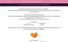 'Learn to Order Jumbled Words' worksheet