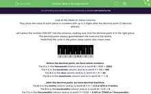 'What is the Digit Worth?' worksheet