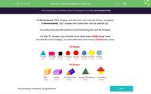 'Placing Shapes in Order (1)' worksheet