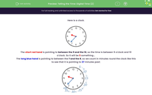 'Telling the Time: Digital Time (2)' worksheet