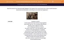 'Reading Shakespeare: Macbeth (2) - Brave Macbeth (Act I, Scene 2)' worksheet