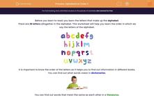 'Alphabetical Order 2' worksheet