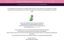 'Solve Alphabet and Number Sequencing Problems' worksheet