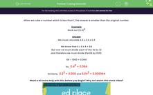 'Understand Quantitative Chemistry' worksheet