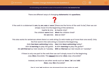 'Change Statements into Questions 2' worksheet