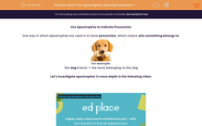 'Know Your Apostrophes: Marking Possession 1' worksheet