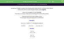 'Use Simple Formulae ' worksheet