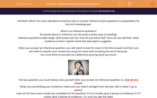 'Understanding Inference Questions 2' worksheet