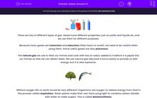 'Gases Around Us' worksheet