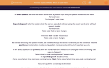 'Speech Marks: When to Use Them' worksheet
