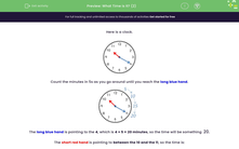 'What Time is It? (2)' worksheet