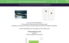 'Solve Geometrical Problems Using Coordinates' worksheet