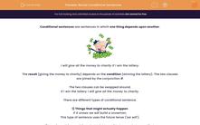 'Revise Conditional Sentences' worksheet