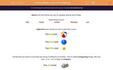 'Adding -er and -est to Adjectives' worksheet