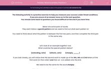 'Word Scrambles Practice 2' worksheet