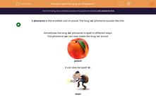 'Spell the Long 'ee' Phoneme 2' worksheet