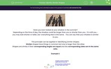 'Identify Similar Shapes' worksheet