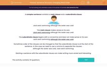 'Sentence Structure: Changing Word Order' worksheet