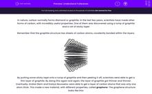 'Understand Fullerenes' worksheet