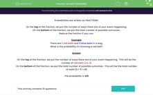 'Simple Probability' worksheet