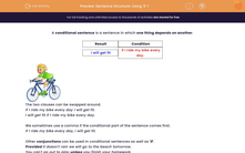'Sentence Structure: Using 'if' 1' worksheet