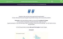 'Find Compound Perimeters' worksheet