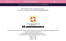 'Rotational Symmetry' worksheet