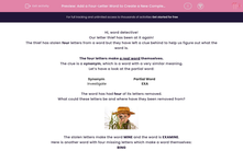 'Add a Four-Letter Word to Create a New Complex Word' worksheet
