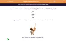 'Understand Pronouns 1' worksheet