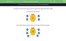 'How Many Factors? (1)' worksheet