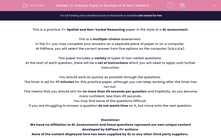 '11+ Practice Paper in the style of GL Non-Verbal Reasoning' worksheet