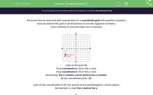 'Coordinate Grids (1)' worksheet