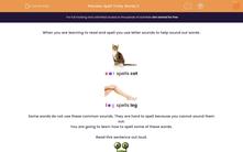 'Spell Tricky Words 2' worksheet