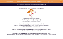 'Nouns and Pronouns: Knowing the Difference 1' worksheet