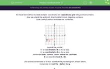 'Coordinate Grids (2)' worksheet