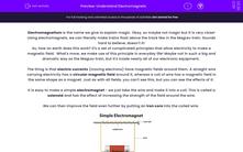 'Understand Electromagnets' worksheet