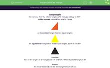 'Name the Triangle' worksheet