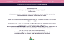'Identify and Apply the Correct Number Rule' worksheet