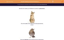 'Spelling: Find the Phonemes 4' worksheet