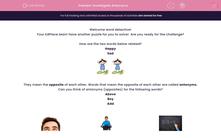 'Investigate Antonyms' worksheet