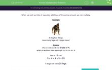 'Multiplication Problems' worksheet