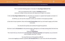 'Key Stage 2 SATs Reading Practice Paper' worksheet
