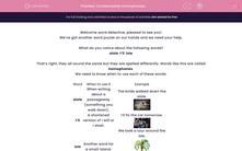 'Contextualise Homophones' worksheet
