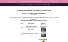 'Finish the Homophone Sentence' worksheet