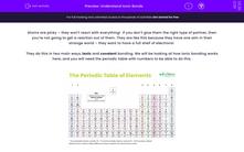 'Understand Ionic Bonds' worksheet