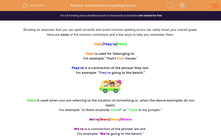 'Avoid Common Spelling Errors 1' worksheet