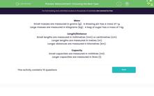 'Measurement: Choosing the Best Type' worksheet
