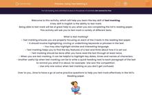 'Using Text Marking 2 ' worksheet