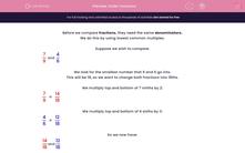 'Order Fractions' worksheet